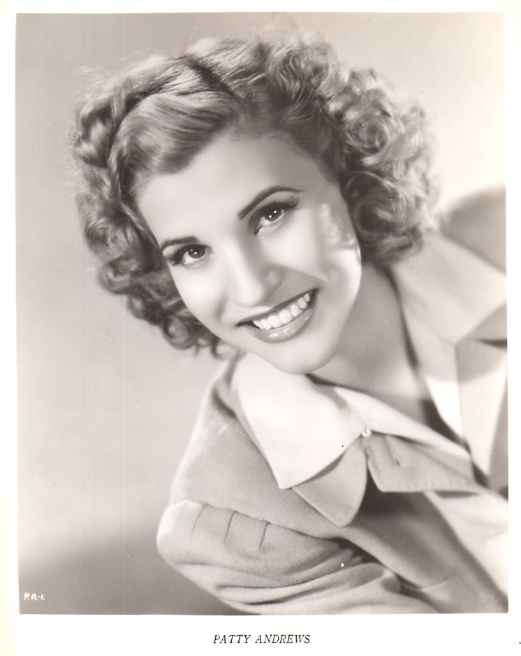 Singer Patty Andrews Dies at 94! – The Animation Commendation