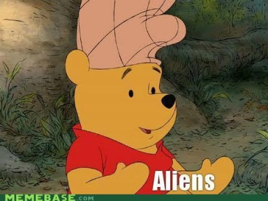 That would explain Pooh's odd choice for a helmet!