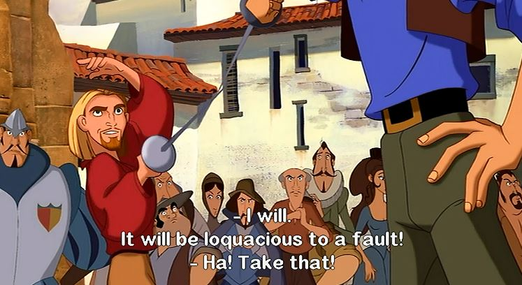 "Now if only real life will provide me with an opportunity to say, ""It will be loquacious to a fault!"""