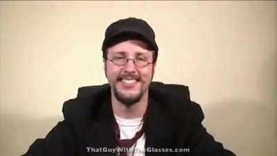 "Warning: He's a bit foul-mouthed when he plays ""The Nostalgia Critic""!"