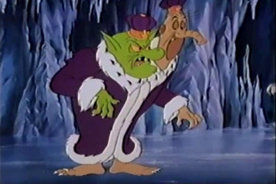 Now guess which one he voiced...the other head is voiced by Vincent Price!