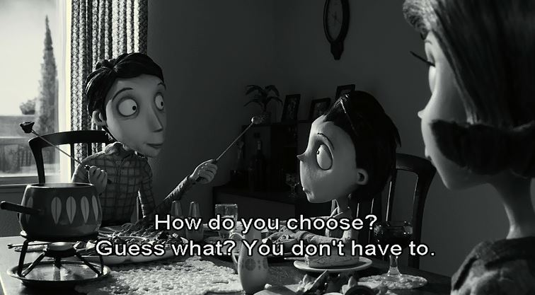 frankenweenie parents