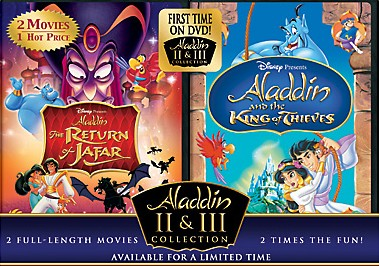 aladdin sequels return jafar king thieves