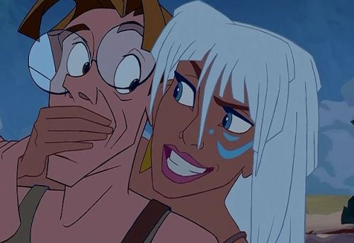 """If you care for your life, you'll do all that you can to get me and Eilonwy officially recognized by the world!"""