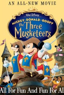 mickey donald goofy three musketeers
