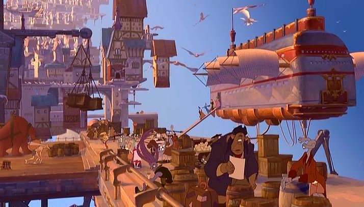 treasure planet inhabitants 2