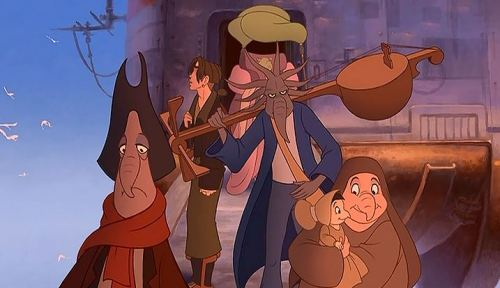 treasure planet inhabitants 3