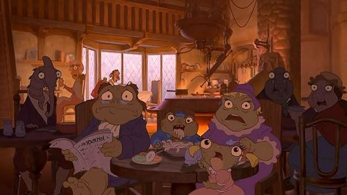 treasure planet inhabitants