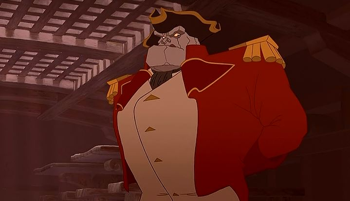 treasure planet mr arrow