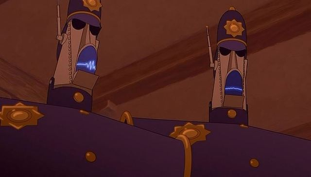Disney Canon Forgotten Minor Characters 43 The Police Bots The Animation Commendation