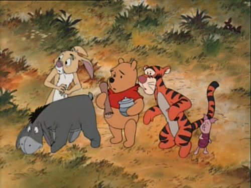 "It's your typical ""Winnie the Pooh"" animation!"