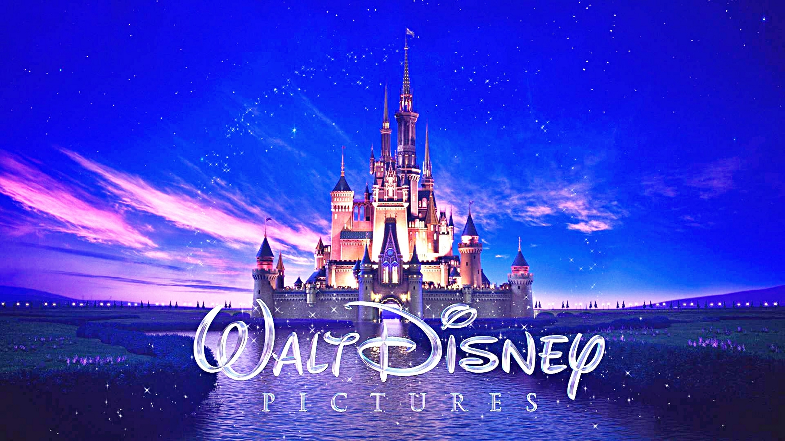 Walt Disney Pictures logo NEW (2013-2014)