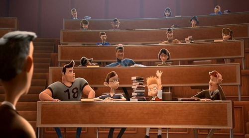 I miss those 16-student classes that took place in huge classrooms!