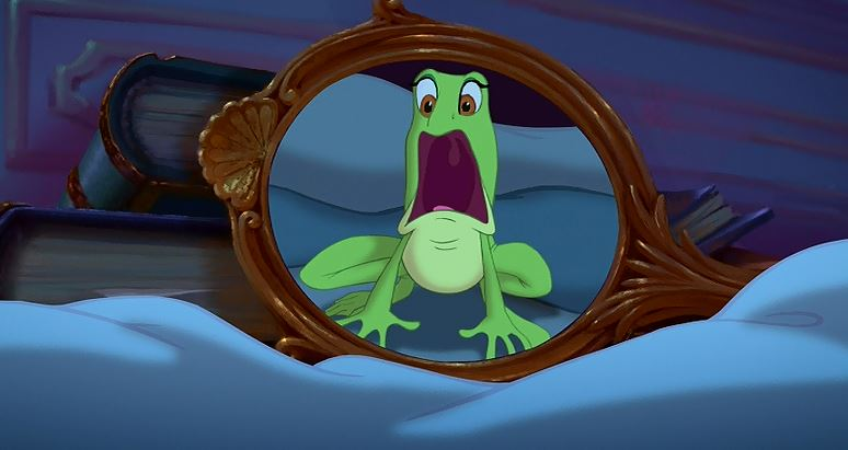 Disney canon forgotten minor characters 49 the reverend for Frog transformation