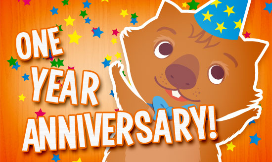 1-YEAR ANNIVERSARY!!!! (1/2)