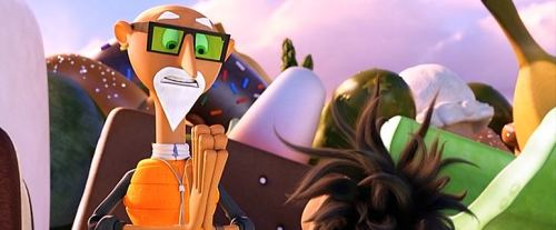 cloudy with a chance of meatballs 2 chester v