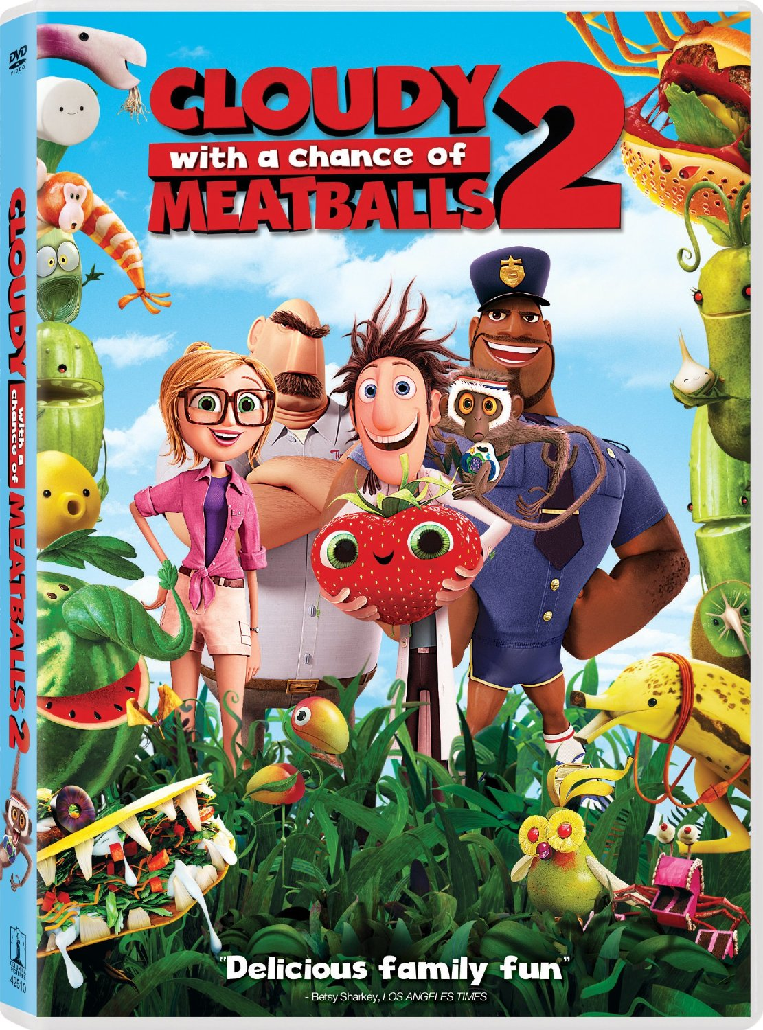 my thoughts: cloudy with a chance of meatballs 2 (2013) | the
