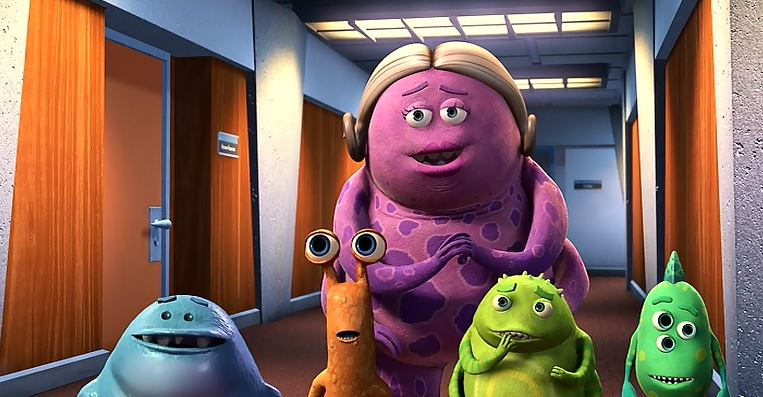 Pixar-Forgotten/Minor Characters #4: The Lady with the Kids