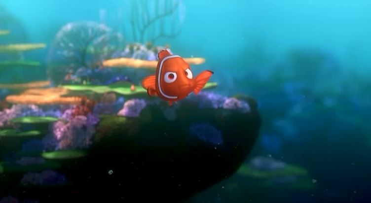Pixar forgotten minor characters 5 the blue proclaimer for Disney fish names