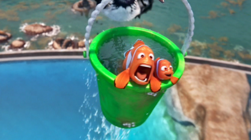 Flying Buckets: Coming soon to a Disney theme park near you!